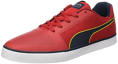 Puma Ailes Rbr Vulc, Zapatillas Mixte Adulto, Azul (éclipse-puma Rouge Blanc Chinois Totale 01), 36 Eu